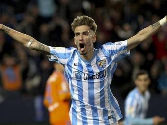 «Малага» обыграла «Валенсию» благодаря голу Кастильехо