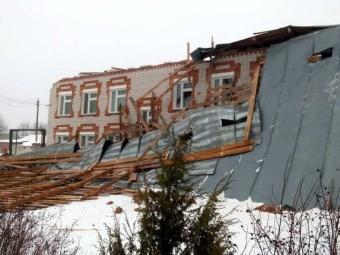 Сврачебной амбулатории вМарий Элсорвало крышу