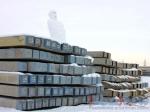 Настройплощадку будущего ростовского стадиона завезли более 8 000 свай