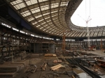 Косени строители завершат устройство каркаса будущего здания «Лужников»