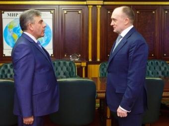 Дубровский провел встречу сновым военкомом Челябинской области