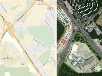 Развязка МКАД сЛенинским проспектом будет готова воктябре 2015г
