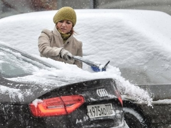 Транспортная ситуация вМоскве может ухудшиться из-за снегопада