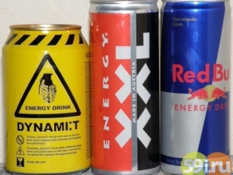 ВПермском крае могут запретить энергетические напитки