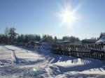 Погода вЮгре на4февраля— Южный ветер