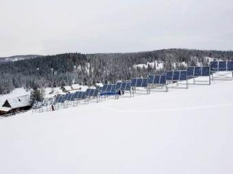 Тулеев запустил первую солнечную электростанцию