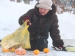 Начало февраля вМоскве выдалось теплым исырым