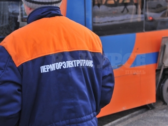 ВПерми началась обкатка новых трамвайных путей наулице Максима Горького