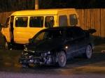 ВБрянске «Мицубиси» протаранил маршрутку спассажирами