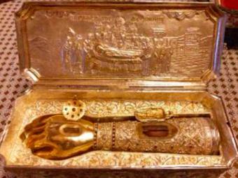 ВМоскву доставят десницу великомученика Димитрия Солунского