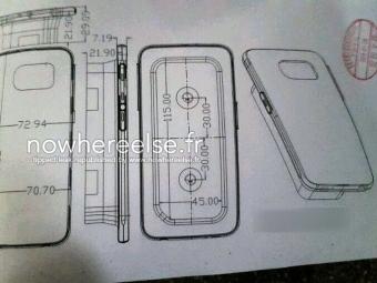Опубликованы фото металлического корпуса Samsung Galaxy S6