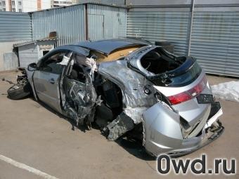 Омской автоледи спалили «Хонду»