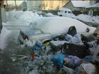 Наодной изпомоек Омска найдена автомобиль «Jaguar»
