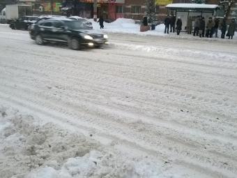 Пробки парализовали движение вНижнем Новгороде