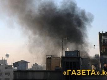 Снаряд попал вроссийское посольство встолице Сирии