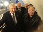 Игорь Албин пообещал разобраться спланами строительства ТДК наместе «Василеостровской»