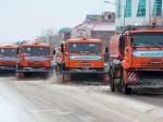 Вуборке городских дорог задействовано около 180 единиц техники