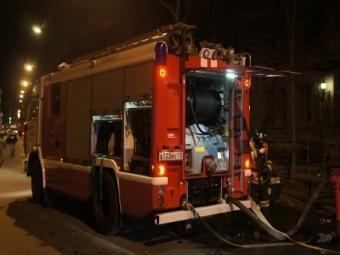 НаПловдивской улице сгорел автомобиль