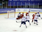 Сборная России похоккею проиграла Канаде назимней Универсиаде