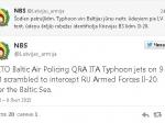Истребители НАТО вылетели наперехват Ил-20 российских ВВС— Латвия