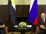 Путин подарил президенту Египта автомат Калашникова