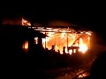 Под Смоленском сгорела ферма сдомашними животными