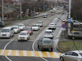ВКраснодаре изменили схему движения автотранспорта поулице Головатого
