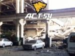 Обрушившийся потолок автомастерской раздавил 6 грузовиков