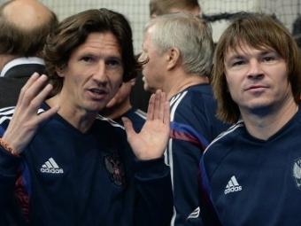 Дмитрий Аленичев забросил три мяча вфинальном матче «Кубка легенд»