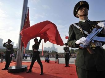 Повышать взвании китайских военных слишним весом небудут