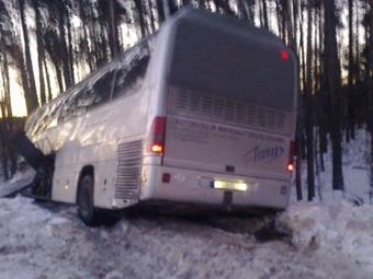Хоккейная команда изЛитвы попала вДТП под Владимиром