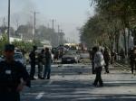 СМИ: вцентре Кабула произошел сильный взрыв