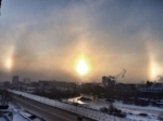 Аномалия по-челябински: над городом взошли три cолнца