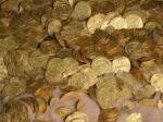 Израильские дайверы нашли самый большой встране клад золотых монет