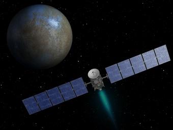 Нановых снимках Цереры видны кратеры изагадочные яркие пятна
