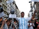 Впамять опрокуроре Нисмане прошел многотысячный марш— Буэнос-Айрес
