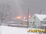 США: Из-за крушения поезда снефтью эвакуировали два города