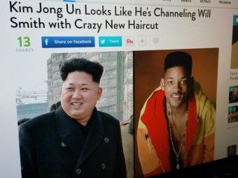 Ким Чен Ынподстригся «под Уилла Смита»