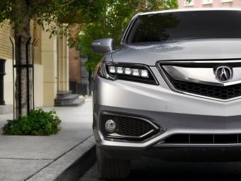 ВЧикаго представили обновленный кроссовер Acura RDX