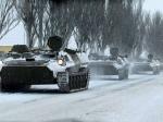 ВУкраину состороны России въехала военная техника