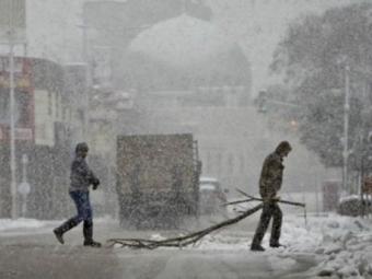 Израиль, Иорданию иЛиван заметает снегом