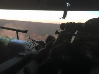 Задень позиции украинских военных подверглись обстрелам 39 раз— АТО