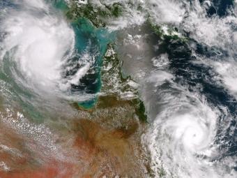 Ураган вАвстралии— Репортаж изInstagram
