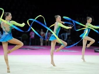 Израильтянки завоевали бронзу вмногоборье вМоскве— Художественная гимнастика