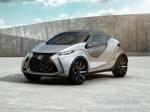 Всети появились снимки малолитражного концепта Lexus LF-SA