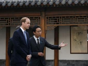 Член британской королевской семьи впервые за30 лет прибыл вКитай