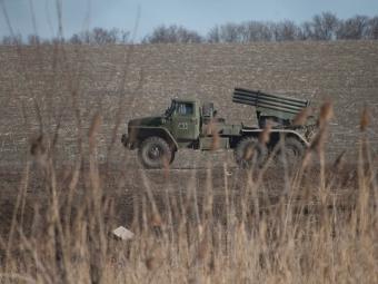 ОБСЕ: Луганские сепаратисты непоказывают, куда отводят вооружение