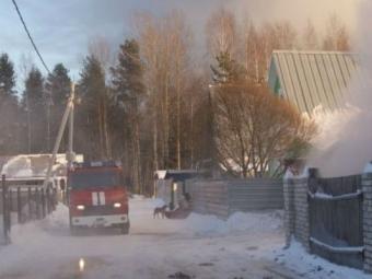 ВКрасноярском крае напожаре погиб 4-летний ребенок