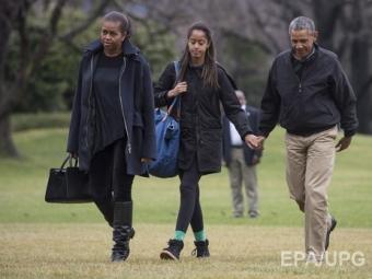 Охрана Белого дома из-за шума налужайке поднята потревоге