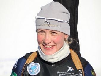 Российская биатлонистка Анна Никулина выиграла общий зачет Кубка IBU